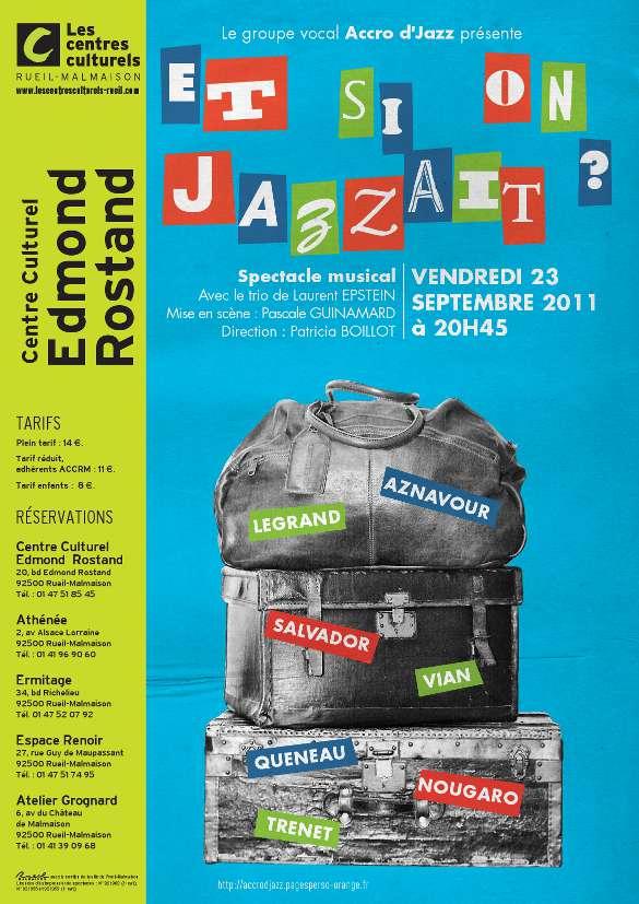 Affiche Accrod'Jazz 2011-09-23