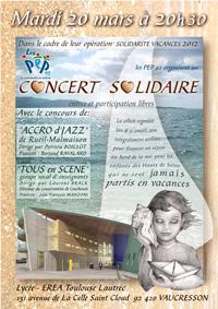 Concert Accrod'Jazz à Vaucresson 2012-03-20