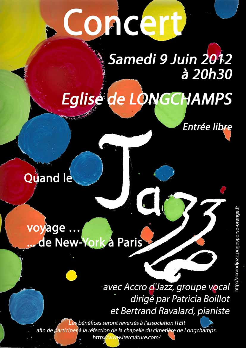 Concert Accrod'Jazz à Longchamps 2012-06-09