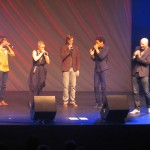 Groupe Allemand SLIXS, beat boxing et chant, belle technique et belle prestation