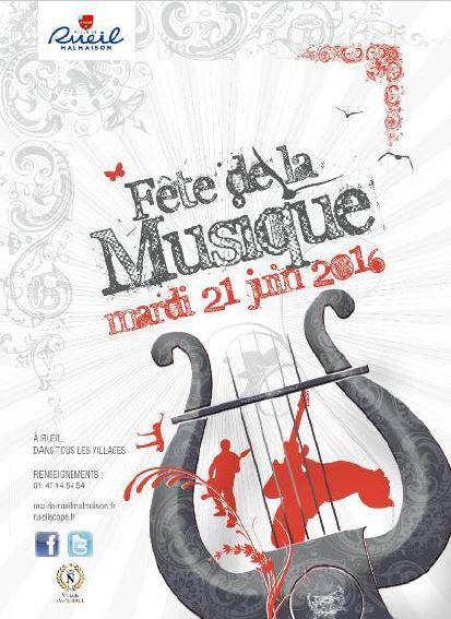 Fete de la musique 2016-Rueil-flyer