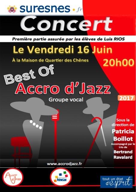 Affiche concert Les Chenes 2017-06-16
